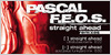 PASCAL F.E.O.S. - Straight Ahead/Remixe